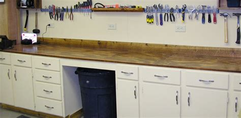 pegboard hooks workbench options for your shop today 39 s homeowner