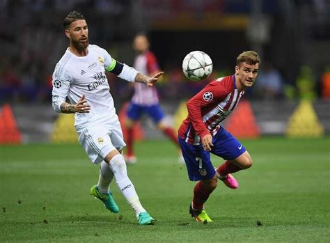 Sergio Ramos reacts to reports Antoine Griezmann could ...