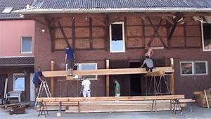 Balkon Selber Bauen Stahl : aufbau der unterkonstruktion balkon youtube ~ Lizthompson.info Haus und Dekorationen