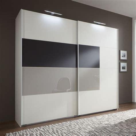 cairo sliding wardrobe  montana oak  black mocha glass doors   standard wardrobe