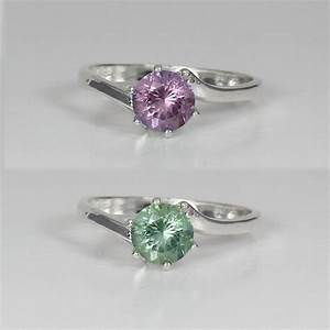 Color Changing Alexandrite Sterling Silver Ring June