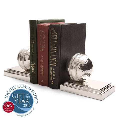 Cricket Ball Bookends By All Things Brighton Beautiful