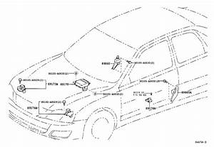 Toyota Avalon Air Bag Impact Sensor  Right   Electrical