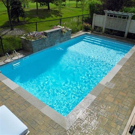 toile de piscine creusee contemporaine inground pool
