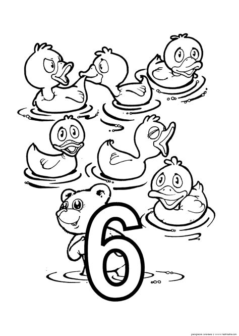 Coloring Number Pages by Numbers Coloring Pages For Printable For Free