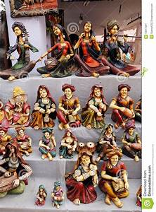Handicrafts, Of, India, Stock, Image