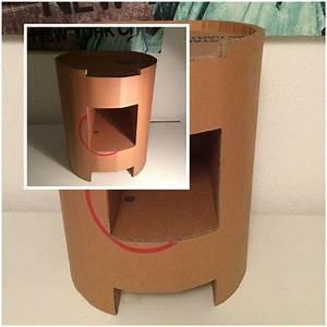 Table De Chevet Ronde : tables de chevet lpb carton ~ Teatrodelosmanantiales.com Idées de Décoration