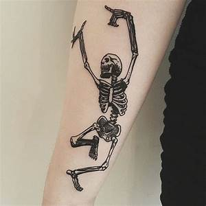 9 Eye-Catching Skeleton Man Tattoo Designs, Ideas And Meaning