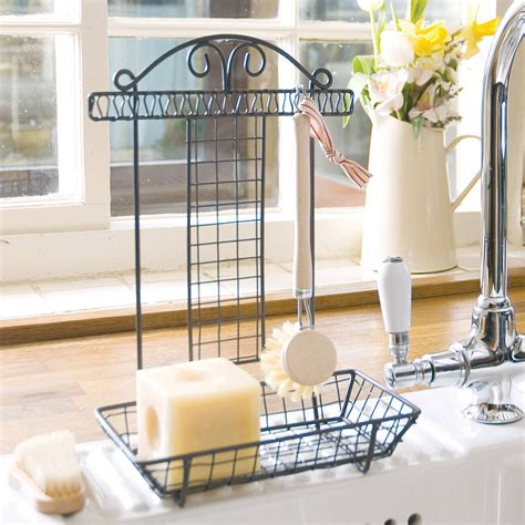 Kitchen Sink Tidy With Brush By Dibor  Notonthehighstreetcom