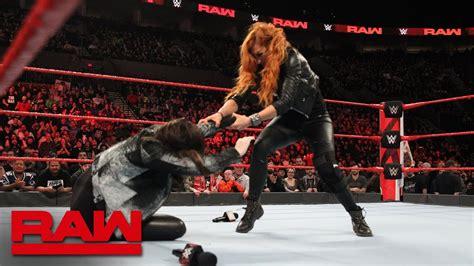 becky lynch attacks stephanie mcmahon raw feb