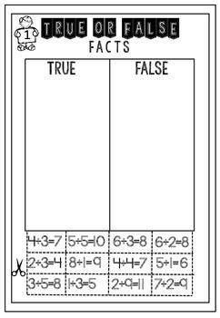 math printable freebie math math facts teaching math