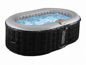 Spa 2 Places Gonflable : spa gonflable ovale b lucky 2 personnes l190xl120xh65cm ~ Melissatoandfro.com Idées de Décoration