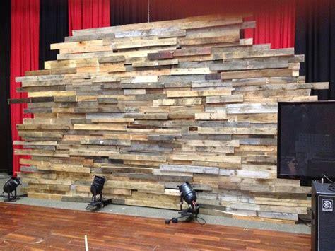 pallet wall church stage church stage design stage design