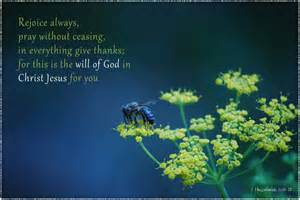 1 Thessalonians 5 16