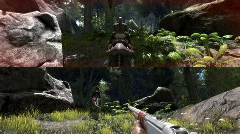 ark survival evolved  add local split screen  op