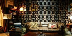 London Themed Bedroom by Design Project The Sherlock Holmes Project Lisa