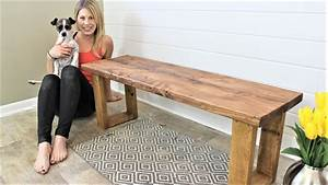 The  15 Fifteen Minute Bench - Easy Diy Project