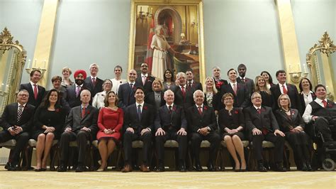 Cabinet Ministery by Canada S New Prime Minister Justin Trudeau Bottom Row C