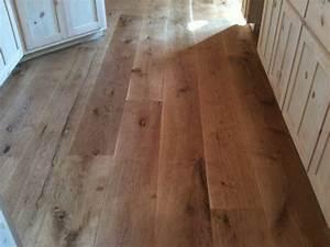 "Character 10"" Wide Plank White Oak Hardwood Flooring"