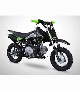 Moto Essence Enfant : moto essence enfant 88cc noir vert probike semi auto kiddi quad ~ Nature-et-papiers.com Idées de Décoration