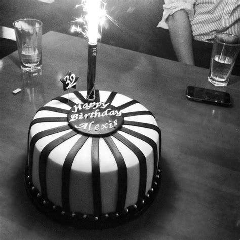 tier black white striped cake neo cakes