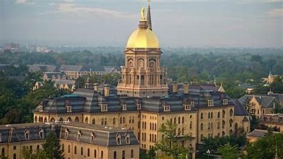 Building Main Dome Dame Notre Golden University