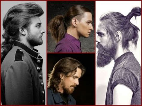 mens long hairstyle trends  youtube