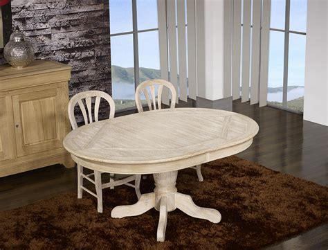 table pied central bois table ovale cl 233 ment 160x120 pied central en ch 234 ne de style louis philippe finition ch 234 ne bross 233