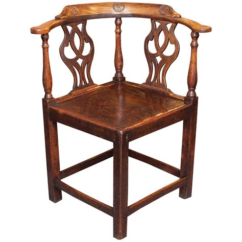 Antique English Corner Chair At 1stdibs