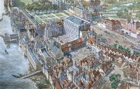 london reconstructed  palace  whitehall