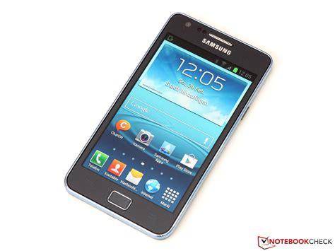 review samsung galaxy s2 plus i9105p smartphone notebookcheck net reviews