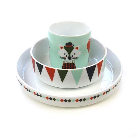 chambre garcon peinture set de vaisselle circus en porcelaine ferm living pour