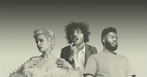 Benny Blanco , Halsey & Khalid Out
