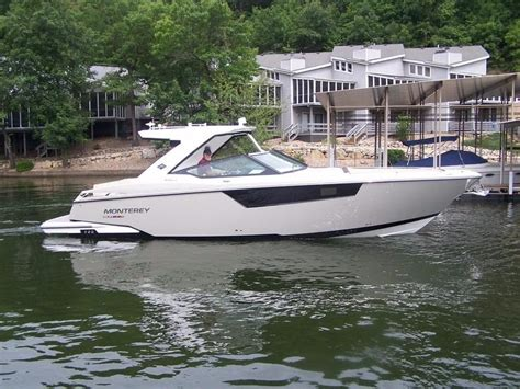 Bowrider Boat With Cuddy Cabin 2017 new monterey 378 se bowrider cuddy cabin boat for