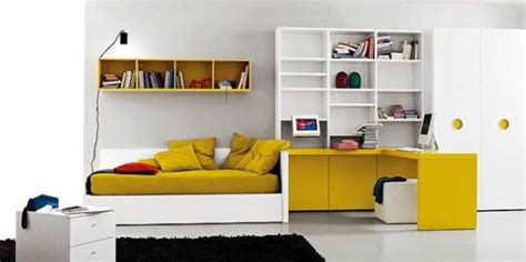 Minimalistische Einrichtung Des Kinderzimmersminimalist Modern Style White Yellow Bedroom Ideas 2 minimalistische einrichtung des kinderzimmers freshouse