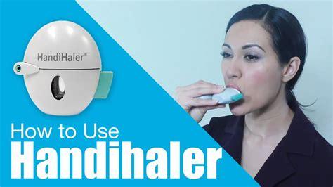 How To Use Handihaler Youtube