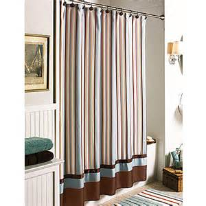 better homes and gardens citrus stripe shower curtain