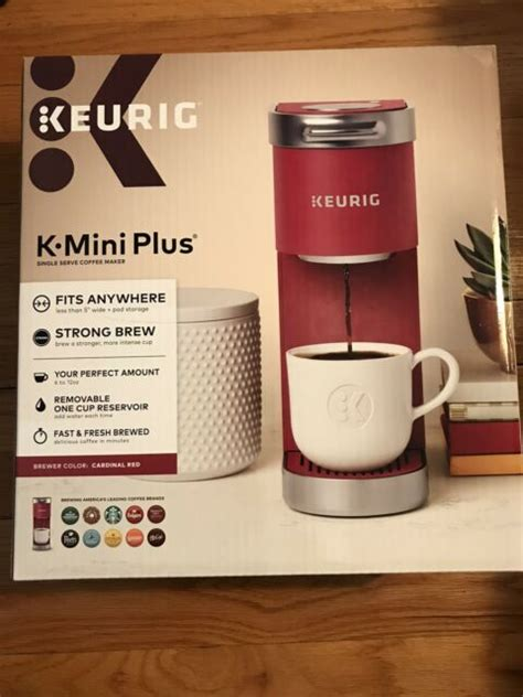 The material looks like cheaply made plastic. Keurig K Mini Plus Coffee Maker - Cardinal Red for sale online | eBay