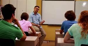 Girl / Teacher / Lecture   4K Stock Video 176-889-770 ...