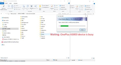 copy move using the file explorer pc does not work oneplus community