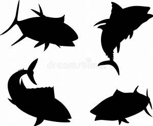 Tuna Silhouette Stock Photography - Image: 7502112