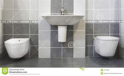salle de bains grise moderne images stock image 4757904