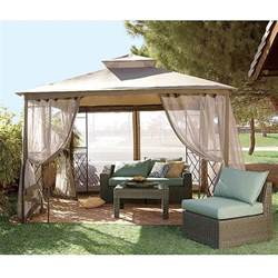 Sams Club Patio Furniture With Fire Pit by Bamboo Gazebo Replacement Canopy Riplock 350 Garden Winds