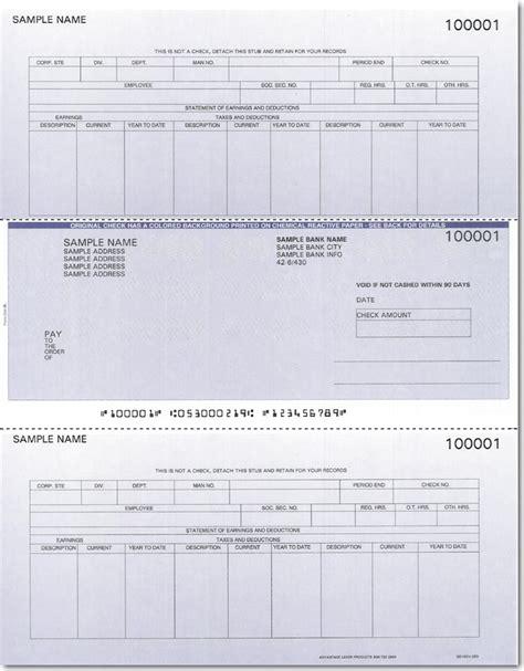 Fedex Background Check Discount Preprinted Qs 1 Data Systems Payroll Checks Big