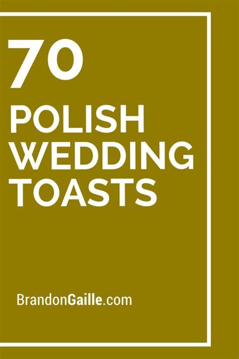 polish wedding toasts messages  communication
