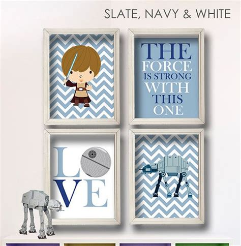 wars room decor etsy baby boy wars nursery boy room decor 4 print