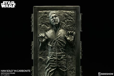 sideshow han solo  carbonite star wars