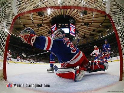 Hockey Lundqvist Rangers York Henrik Wallpapers Player