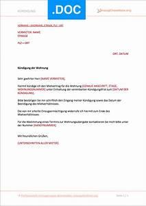 Muster Mietvertrag Kündigen : k ndigung mietvertrag vorlage 2020 download ~ Watch28wear.com Haus und Dekorationen