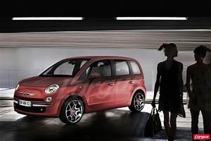 Monospace Fiat : une fiat 500 pour la famille l 39 argus ~ Gottalentnigeria.com Avis de Voitures